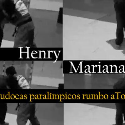 HENRY BORGES Y MARIANA MEDEROS: JUDOCAS PARALÍMPICOS RUMBO A TOKIO