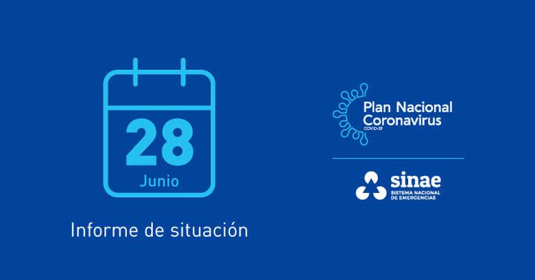 28.06.21: 30 MUERTES EN EL PAÍS , 0 EN ARTIGAS; 52 NUEVOS CASOS EN EL DEPARTAMENTO